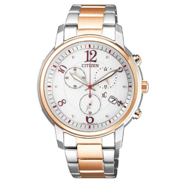 大高雄鐘錶城:CITIZEN星辰錶FB1435-57A亞洲限定版時尚光動能腕錶白面37mm