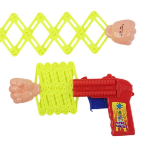 伸縮拳頭槍 大 整人拳頭玩具槍 童玩/一個入(促15) 拳球槍 彈簧槍 伸縮槍 拳頭玩具槍 整人玩具槍-瑋