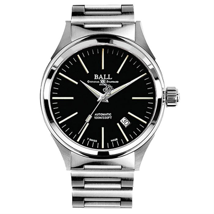 BALL 波爾錶 NM2188C-S5J-BK   watch Fireman 經典機械腕錶/黑面 40mm