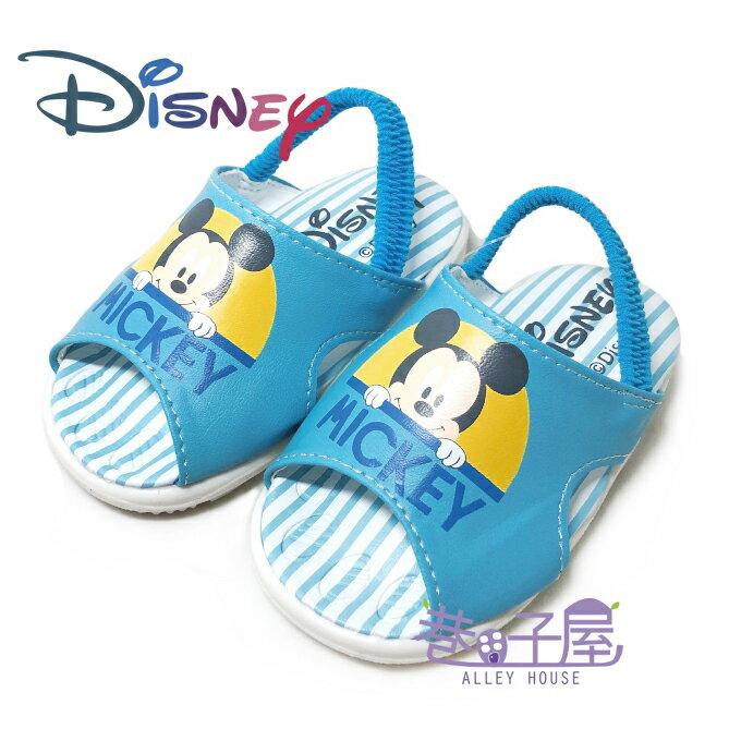 迪士尼DISNEY 童款米奇啾啾鞋 學步鞋 涼鞋 [119342] 藍 MIT台灣製造【巷子屋】