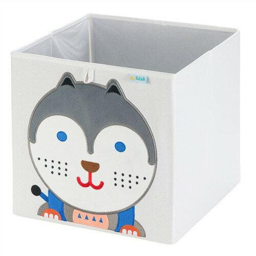 收納櫃 收納  收納箱 兒童收納 MyTolek 童樂可積木櫃&藏寶盒六件組(北歐風~木紋) 5