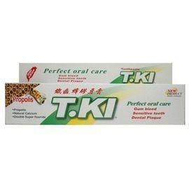 T.KI鐵齒蜂膠牙膏144G條每條加贈1條20G蜂膠牙膏◆德瑞健康家◆