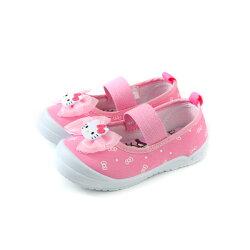 Hello Kitty 凱蒂貓 娃娃鞋 室內鞋 粉紅色 中童 童鞋 719818 no786