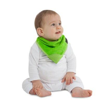 紐西蘭Mum2Mum 機能型神奇三角口水巾咬咬兜(萊姆綠)