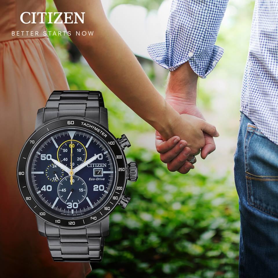 清水鐘錶 Citizen 星辰 Eco-Drive 光動能 深邃時光優質腕錶 藍面 CA0645-82L 44mm