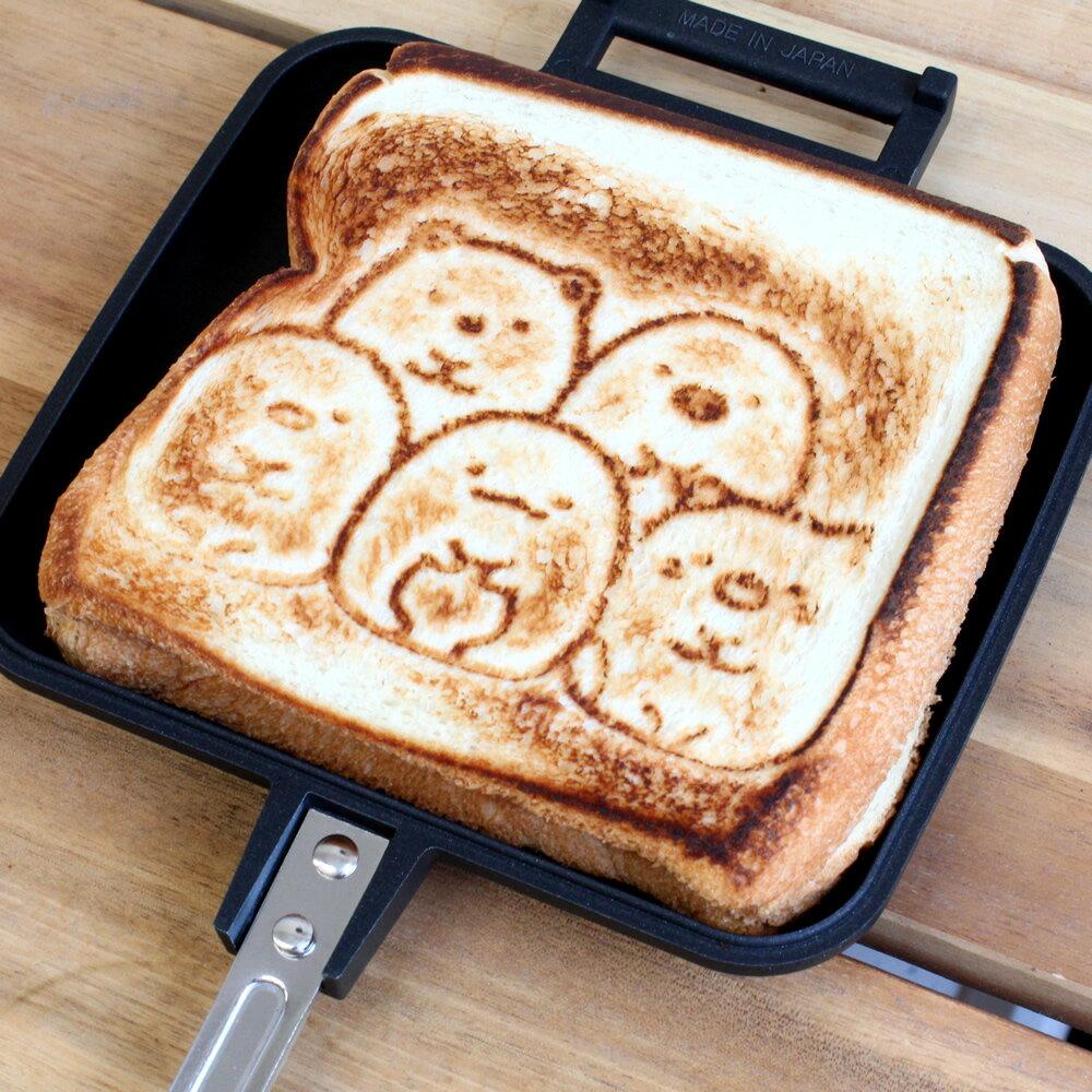 角落生物 / 熱壓三明治烤盤 / C10680。1色。(2160)日本必買代購 / 日本樂天。件件免運 0