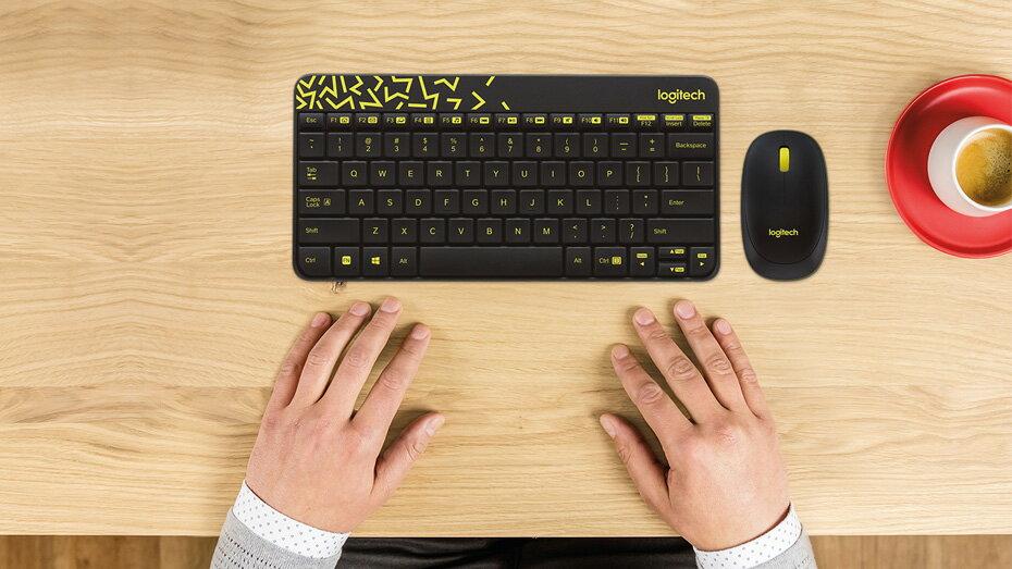 ☆宏華資訊廣場☆羅技 無線滑鼠鍵盤組 MK240 nano