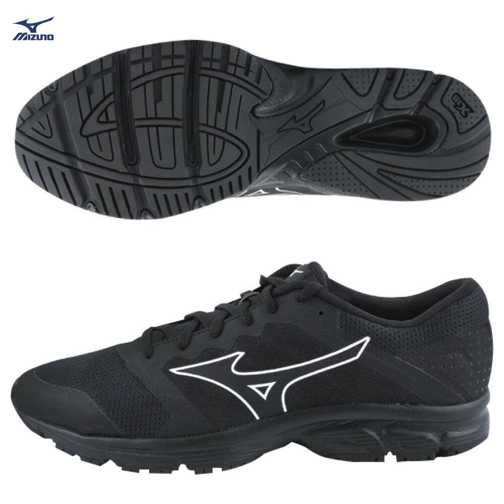 MIZUNO EZRUN LX S 一般型男女款慢跑鞋 J1GR181820(黑)【美津濃MIZUNO】★APP限定 | 滿1000結帳輸入『19Jan100』再折100 ❤ 滿2000結帳輸入『19CNY200-2』再折200★ 1