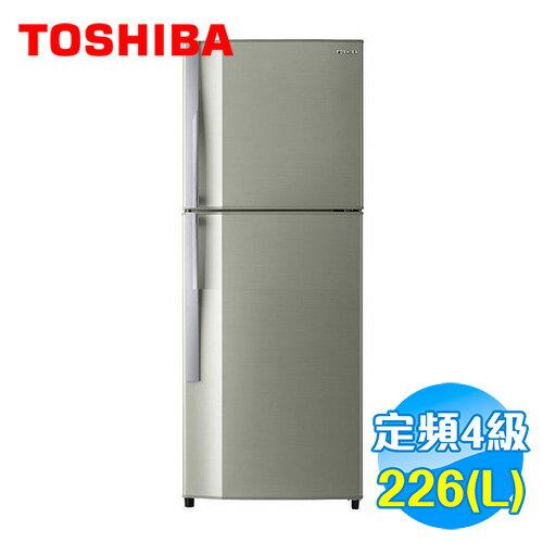 Toshiba 東芝 226公升 雙門冰箱 GR~S24TPB ~送 ~