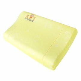 夢貝比花果子系列乳膠枕-好夢熊花果子系列幼兒健康枕SF-2979(黃色)684元