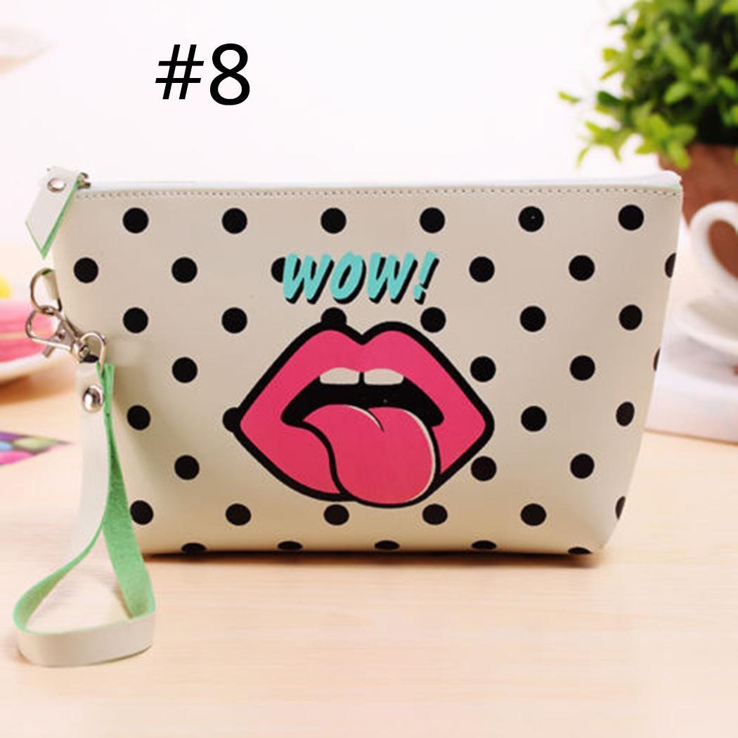 Print Toiletry Makeup Bag Travel Organizer Storage Pouch Clutch Bag 4