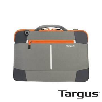 """[免運] Targus  Bex II 15.6"""" 手提側背包/筆電包  灰橘"""