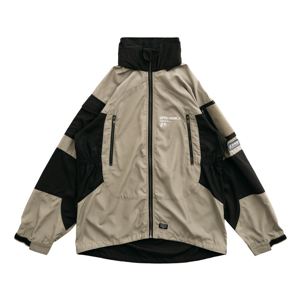 【CPTN HOOK】TIGER ON THE HILL COAT(黑 / 卡其) 高領 抗寒 防風 風衣外套(palace store) 0