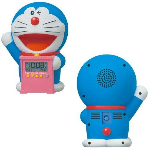 大賀屋 日貨 哆啦A夢 鬧鐘 時鐘 鐘 造型時鐘 小叮噹 doraemon Seiko 精工 正版 J00040008