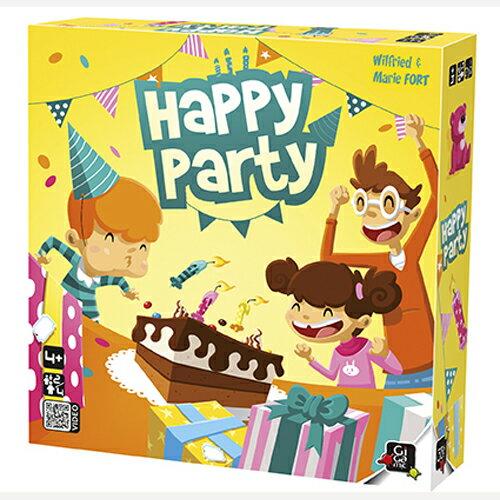 【 法國桌神 Gigamic 桌遊】HAPPY PARTY 開心派對 GIG045