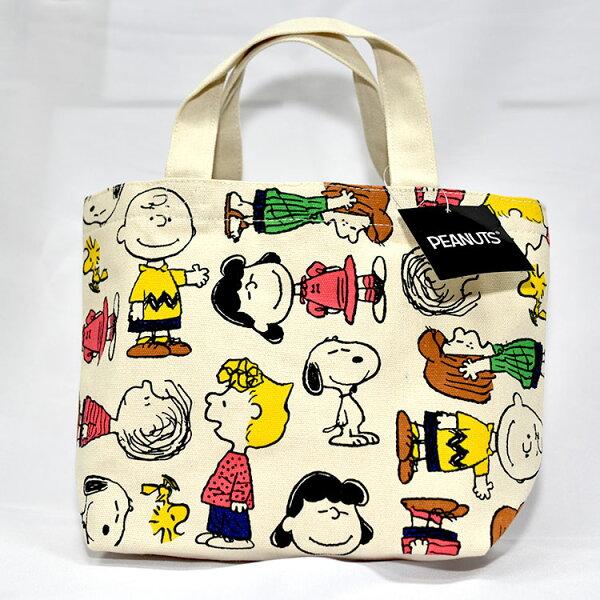 SNOOPY史努比帆布手提袋餐袋日本限定正版品