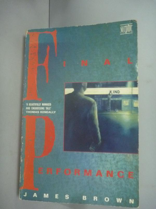 ~書寶 書T7/原文小說_HIQ~Final Performance_James Brow