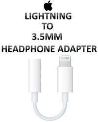 【原廠吊卡盒裝】蘋果 APPLE Lightning 對 3.5 公釐耳機插孔轉接器 3.5mm
