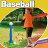 T-Ball Set, 2 Oversized Baseballs, Kids Sport tools 3