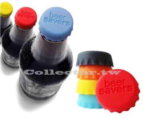 【F13091402】彩色創意矽膠酒瓶蓋( 6枚入) 可重複使用 保鮮蓋 軟膠瓶蓋