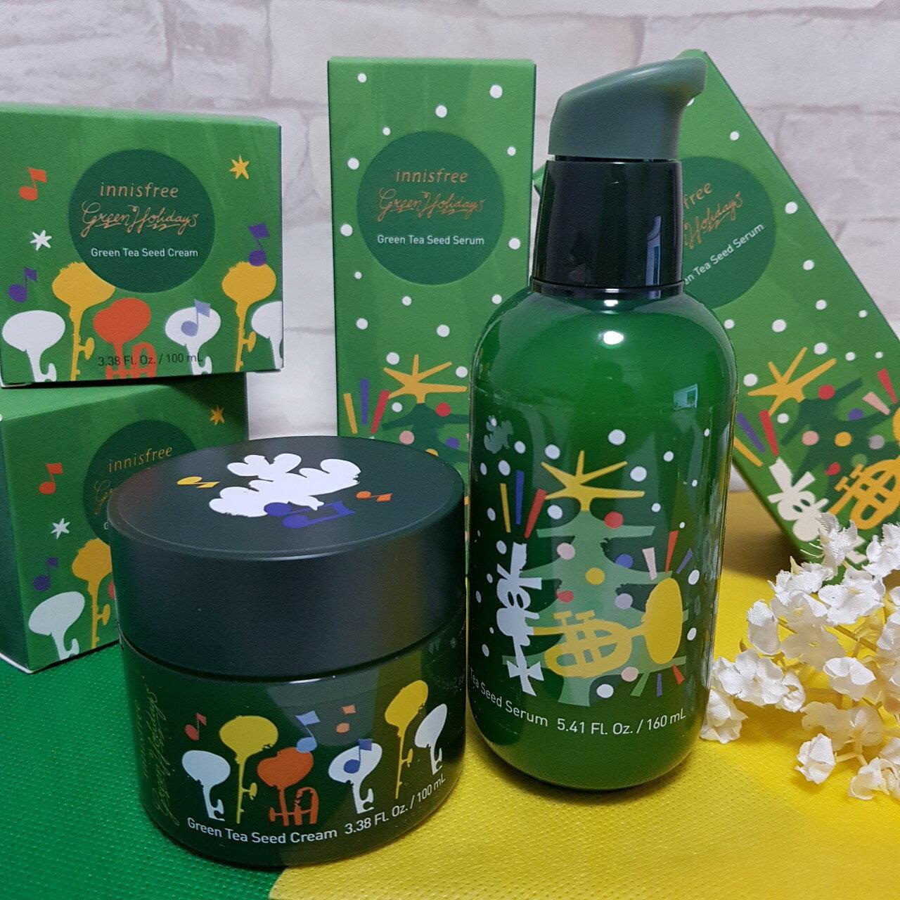 innisfree 2019 綠色聖誕 綠茶籽保濕系列 2