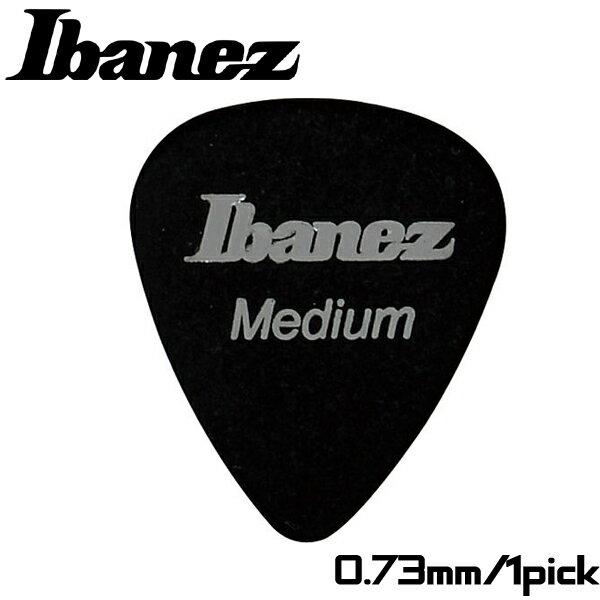 【非凡樂器】Ibanez 標準彈片pick【Medium】0.73mm 黑色