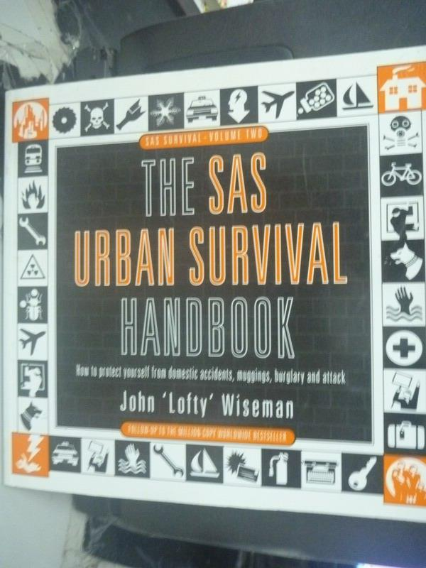 ~書寶 書T6/原文書_ZCJ~The Sas Urban Survival Handbo