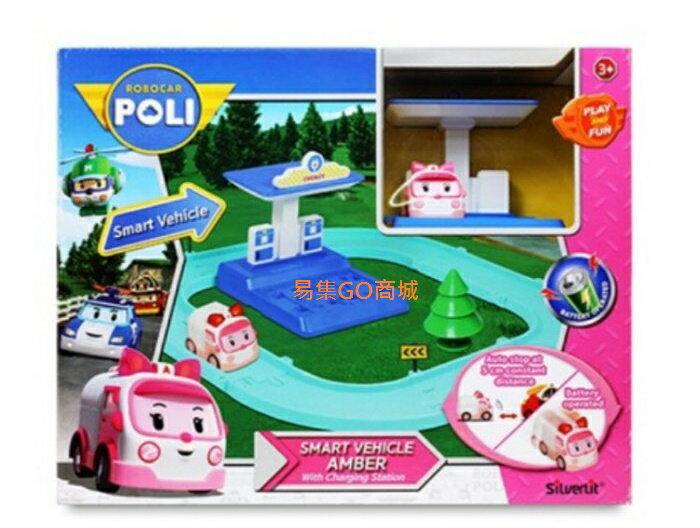 易集GO商城- 代購~ POLI 波力 - 安寶電動車與充電站遊戲組-107769 (代購商品下標詢問現貨)