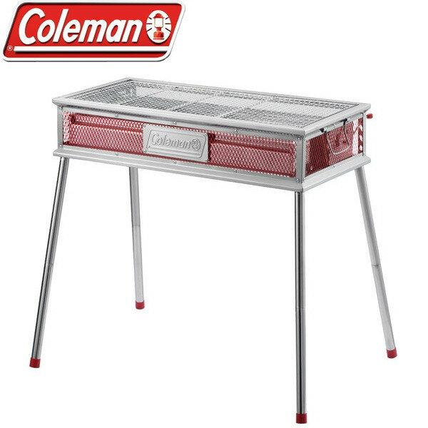 【露營趣】中和 送Logos烤肉串叉 美國 Coleman 酷蜘蛛烤肉箱 焚火台 烤肉架 CM-0394