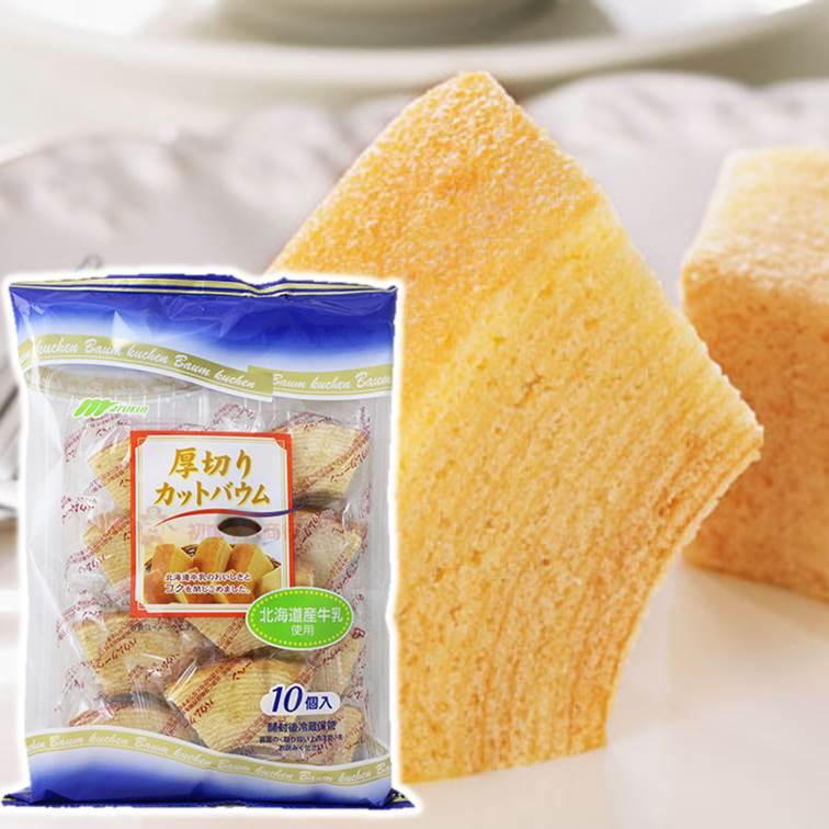 【MARUKIN丸金】厚切年輪小蛋糕10入-原味 270g ???? 厚切??????? 日本零食