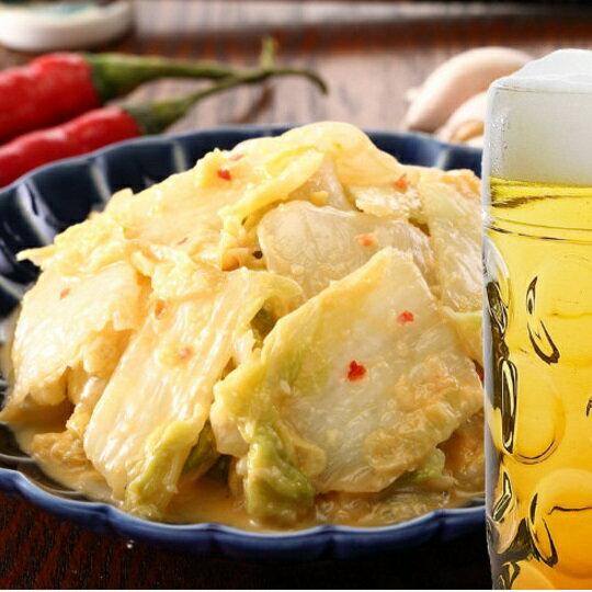 【伍賀黃金泡菜 】泡菜  兩入裝  純手工 產地直送食材嚴選 (500g /  罐) 0