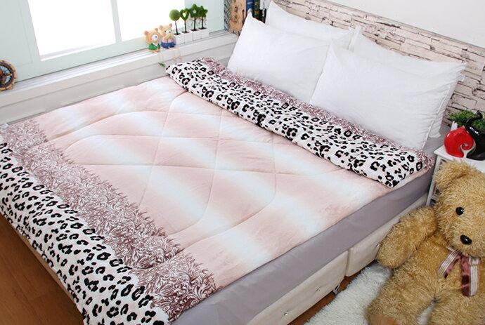 法萊絨/法蘭絨暖暖被/厚毯被_豹紋時代《GiGi居家寢飾生活館》