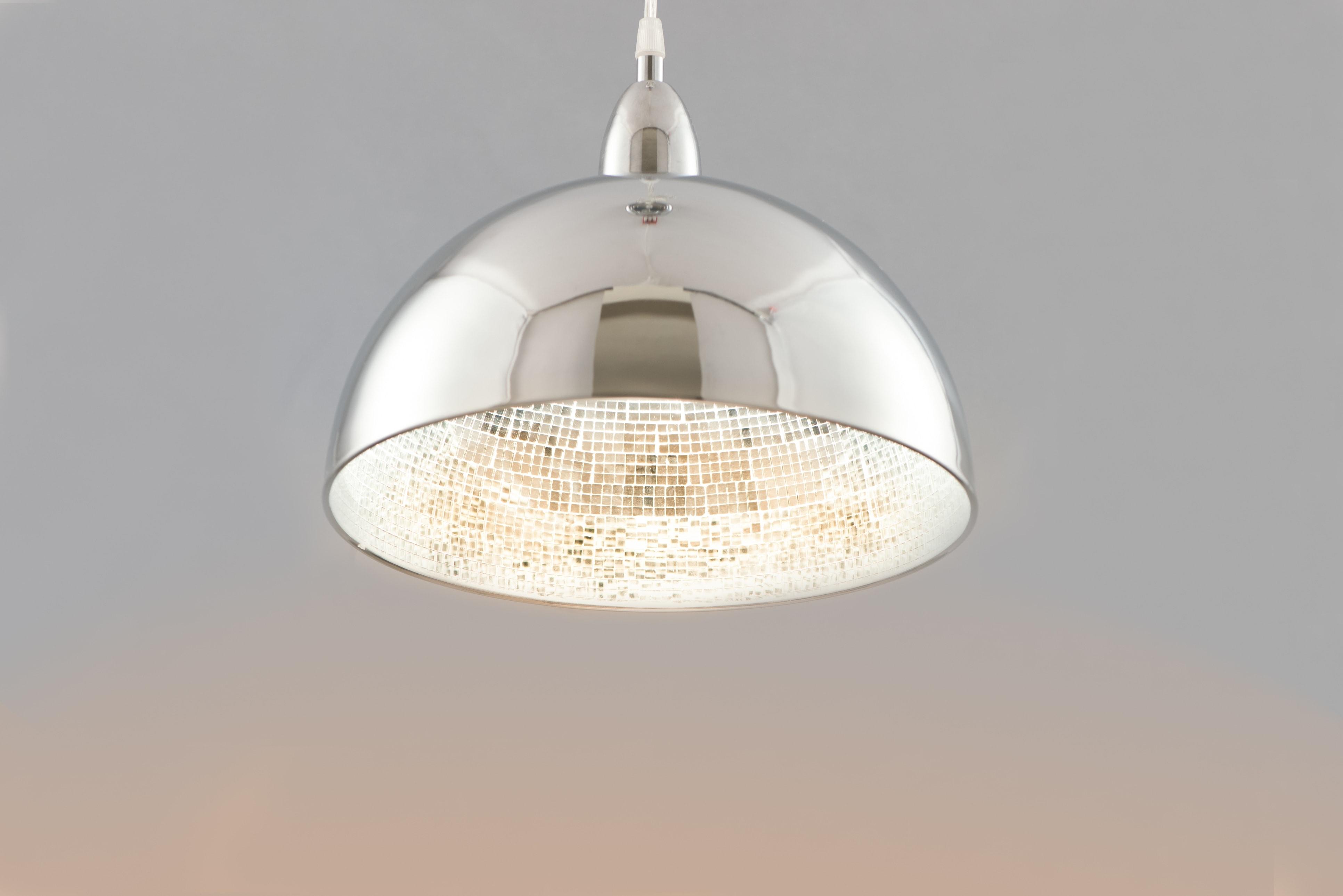 內貼鏡面玻璃馬賽克金屬吊燈-BNL00083 0