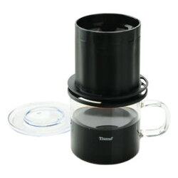 金時代書香咖啡 Tiamo UFO-180圓錐濾器獨享杯-黑色320cc 免用濾紙 HG2322