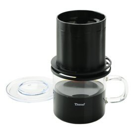 金時代書香咖啡TiamoUFO-180圓錐濾器獨享杯-黑色320cc免用濾紙HG2322