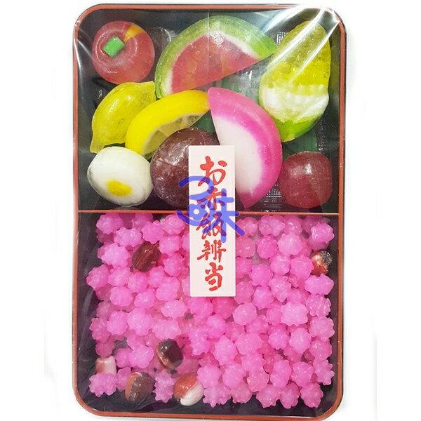 kyomeika  京銘菓  金平糖~赤飯水果便當 1盒100公克 153元~45