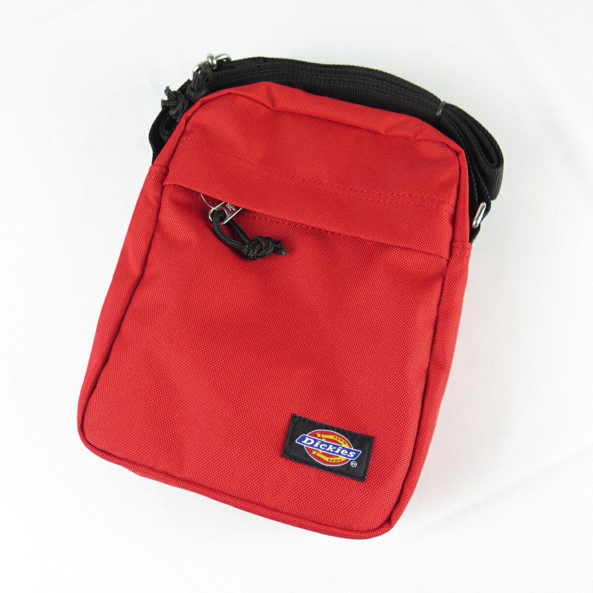 DICKIES 側肩背包 斜背包 正韓 DML5UBSC503R 紅 21X16X5cm【iSport代購】