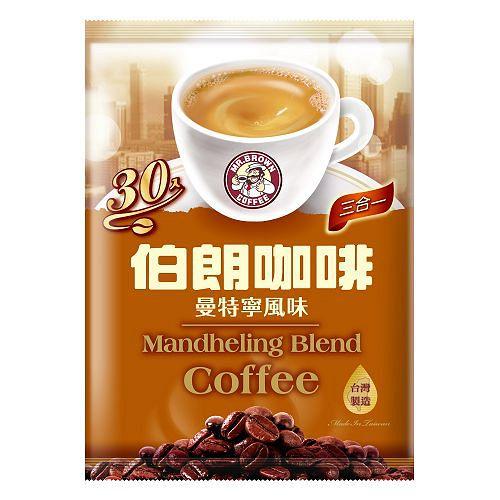 伯朗三合一咖啡-曼特寧15g*30包【愛買】