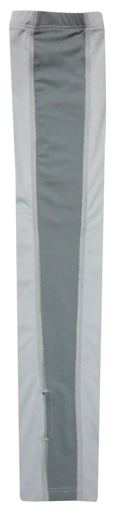 ├登山樂┤台灣MOUNTNEER 山林 中性透氣抗UV袖套 淺灰#11K95-08