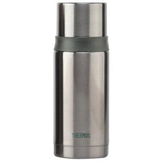 THERMOS膳魔師 不鏽鋼真空彈蓋保溫瓶保溫杯350ml-銀灰色【FEI-351】(MF0164H)