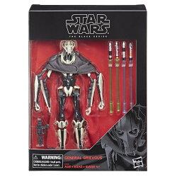 (卡司 正版現貨)星際大戰 葛里維斯將軍 黑標 6吋 General Grievous 西斯大帝復仇 Star Wars