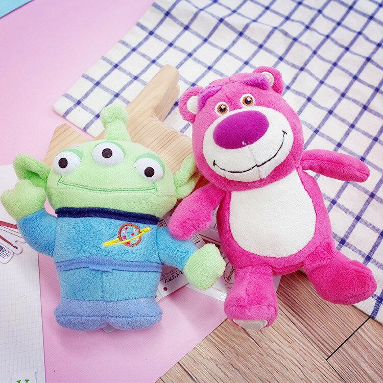 PGS7 日本迪士尼系列商品 - 迪士尼 T-ARTS 娃娃 三眼怪 Alien 熊抱哥 玩具總動員 玩偶【SJJ7022】