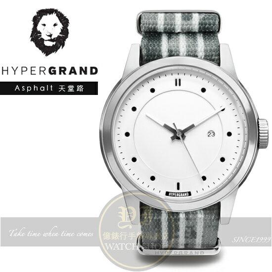 Hypergrand新加坡 前衛 品牌冷鋼系列腕錶~天堂路NWM4ASHP 貨