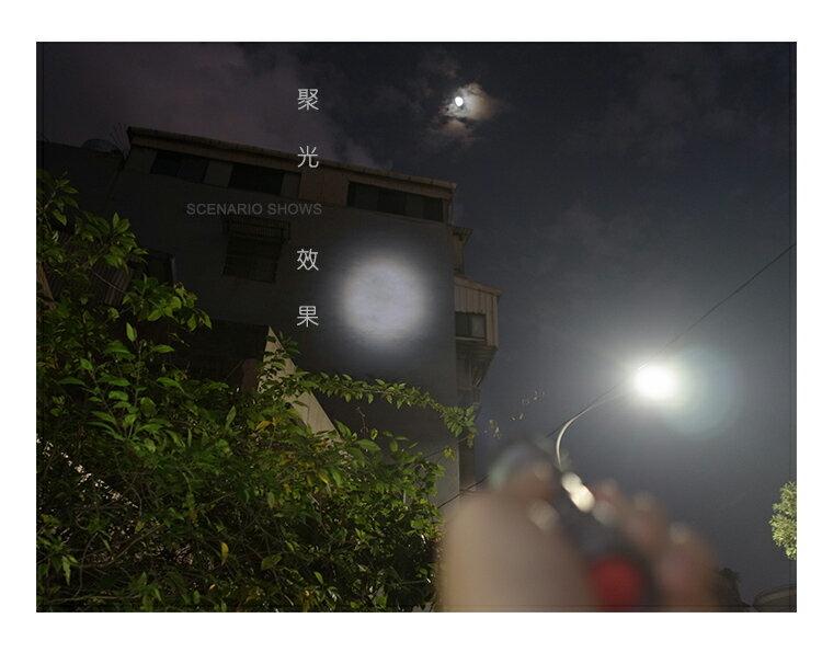 千里眼 L2(暖白) 自由調焦 1250流明 超強亮度 手電筒 6