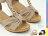 格子舖*【KW210】 韓系優雅 水鑽飾品皮面拼接楔型厚底涼鞋 台灣製造 3色現貨 - 限時優惠好康折扣
