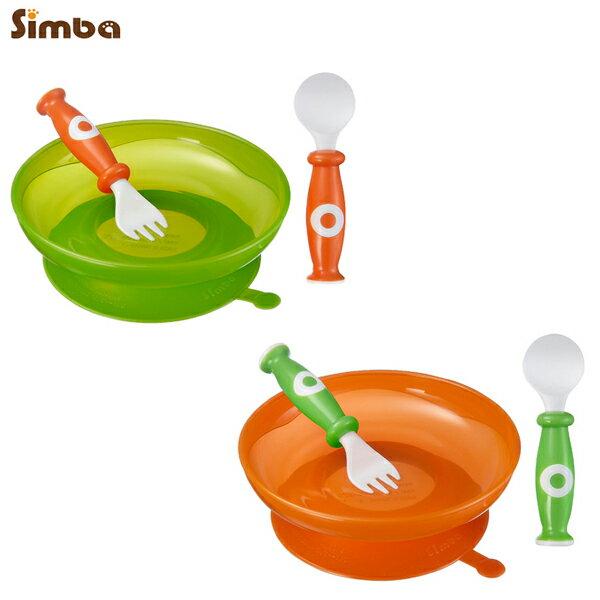 Simba小獅王辛巴 - 吸盤學習餐具組