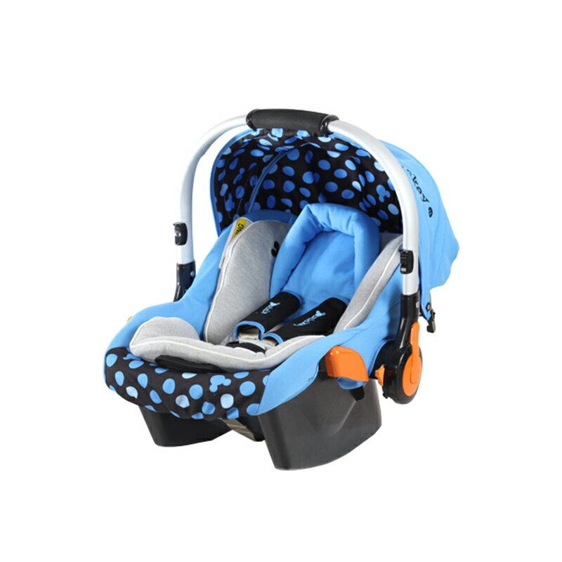 【ViVibaby】迪士尼米奇/米妮提籃安全座椅(米奇藍DSF001100B/米妮粉DSF001100R)