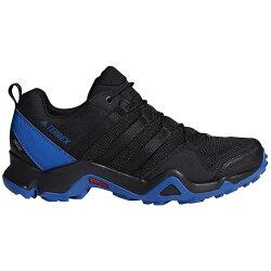ADIDAS TERREX AX2R GTX 男鞋 健走 登山 網布 透氣 舒適 黑 藍【運動世界】CM7717
