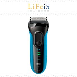當代美學 百靈 BRAUN 【3040S】刮鬍刀 電鬍刀 防水設計 可水洗 海外