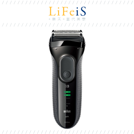 當代美學 百靈 BRAUN 【3050CC】電動刮鬍刀 電鬍刀 可水洗 海外 附洗淨座